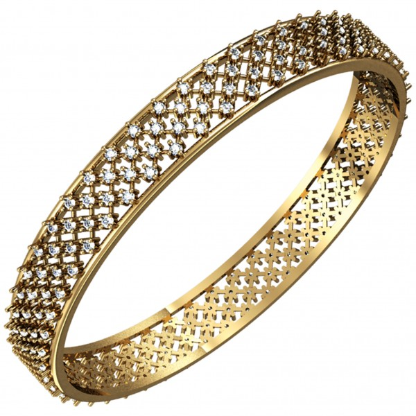 Diamond Bangle 4BGAA005