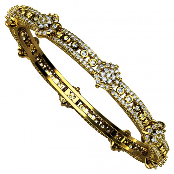 Diamond Bangle 4BGAA035