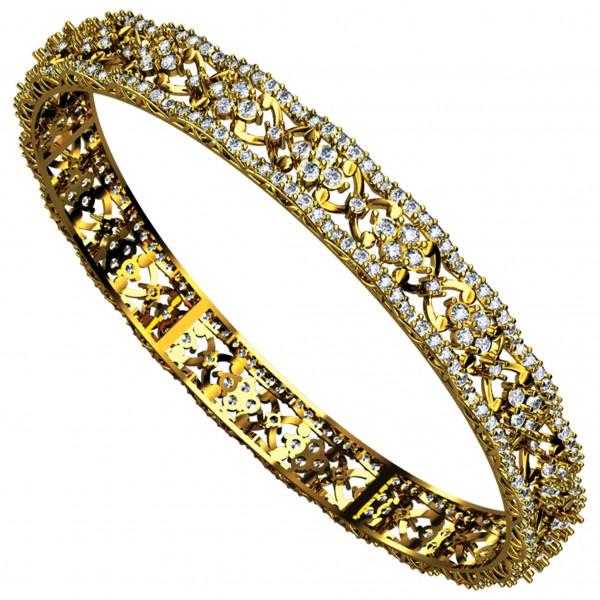 Diamond Bangle 4BGAA057