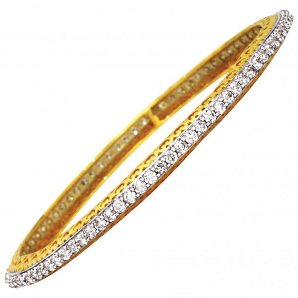 Diamond Bangle Pair 4BGAA065