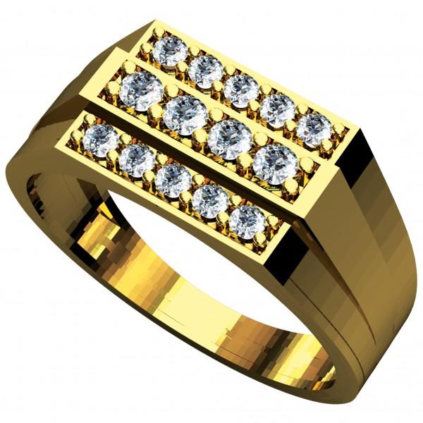 Diamond Gents Ring GRAA006