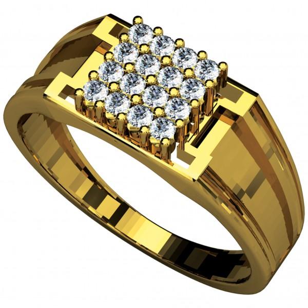Diamond Gents Ring 4GRAA007