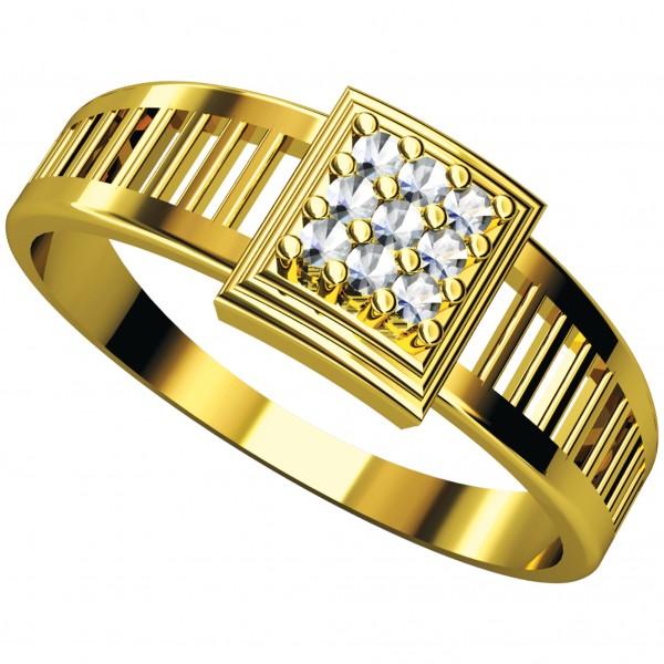 Diamond Gents Ring 4GRAA016