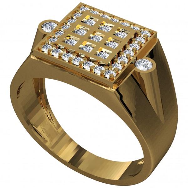 Diamond Gents Ring GRAA022
