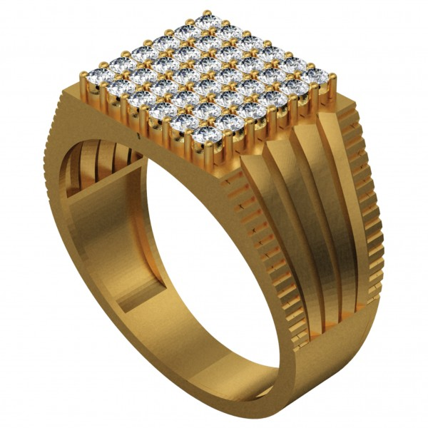 Diamond Gents Ring GRAA023