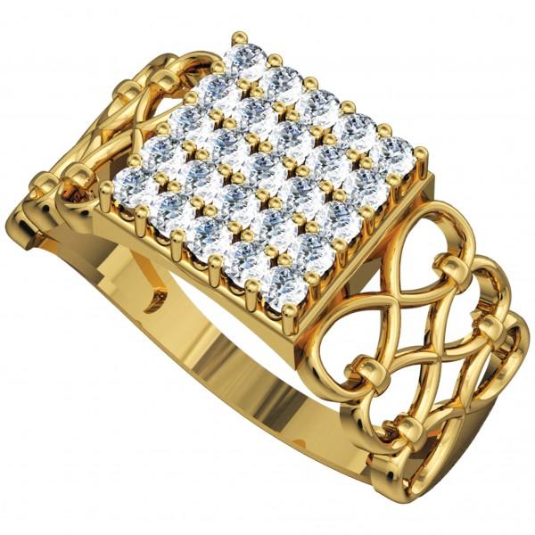 Diamond Gents Ring GRAA026