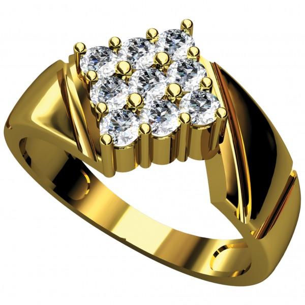 Diamond Gents Ring 4GRAA031
