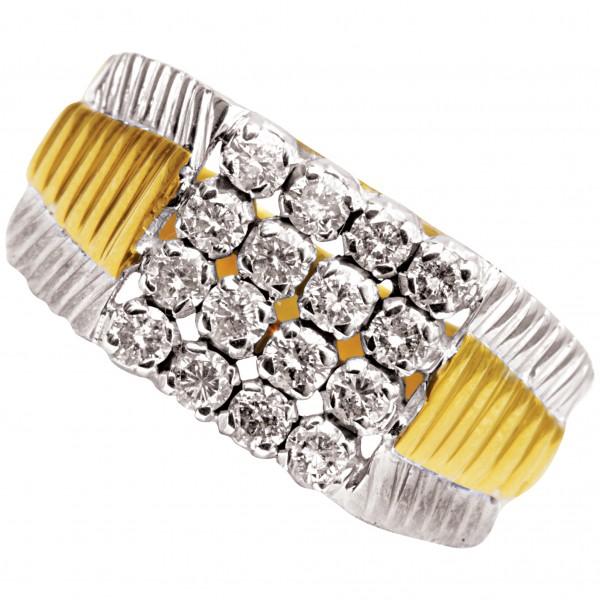 Diamond Gents Ring 4GRAA036