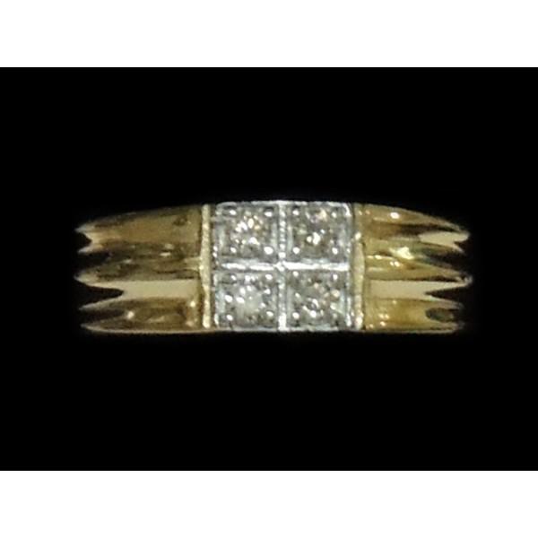 Diamond Gents Ring 4GRAA089