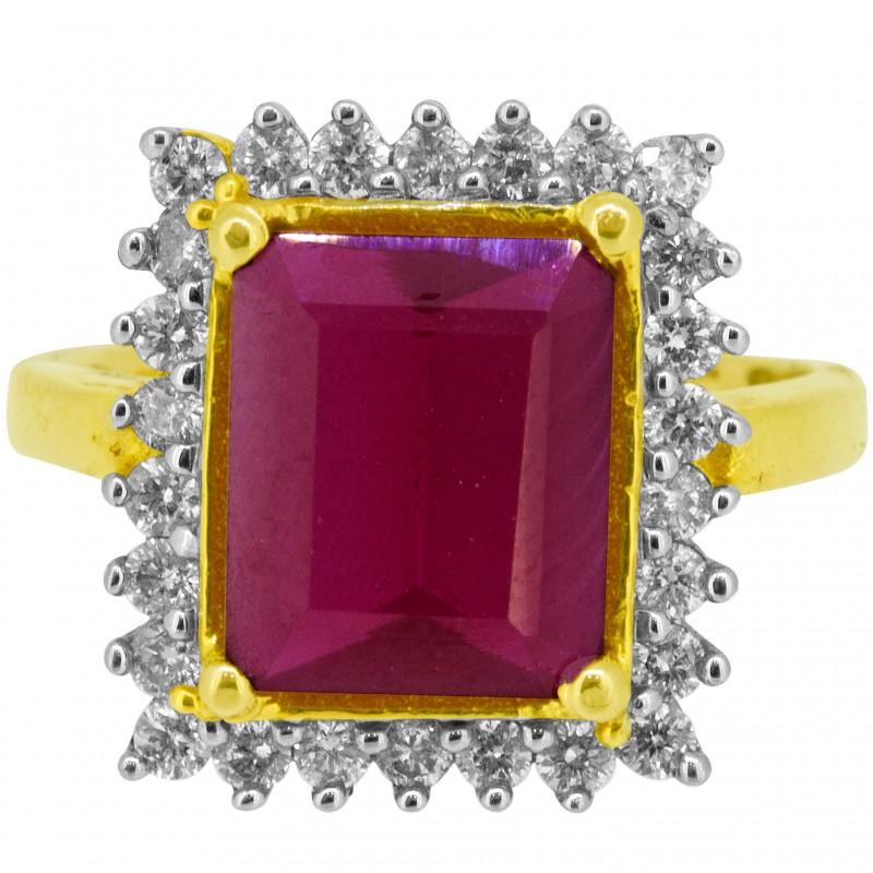 Diamond Ladies Ring 4LRAB015
