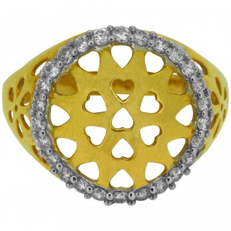 Diamond Ladies Ring 4LRAB105