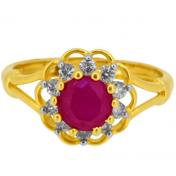 Diamond Ladies Ring 4LRAB106