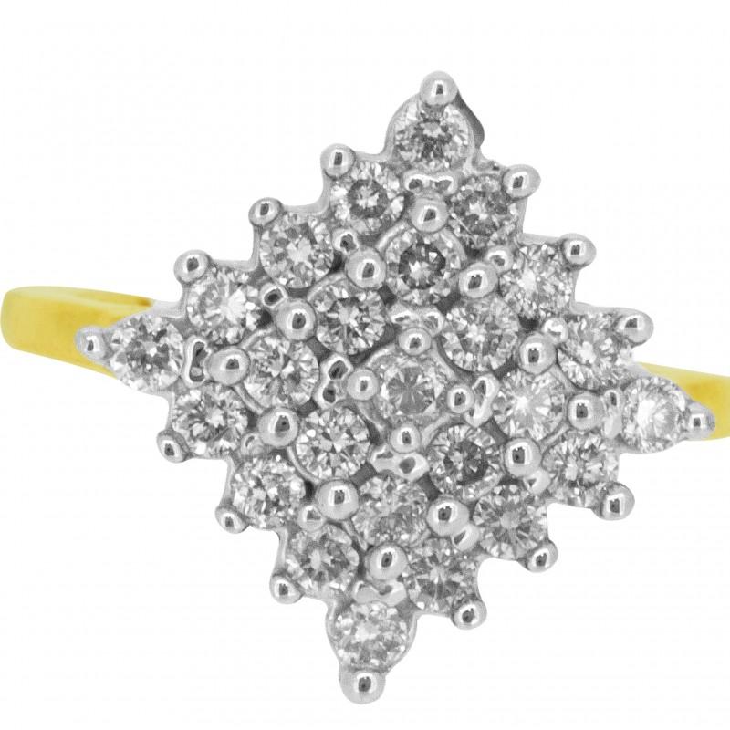 Diamond Ladies Ring 4LRAB195