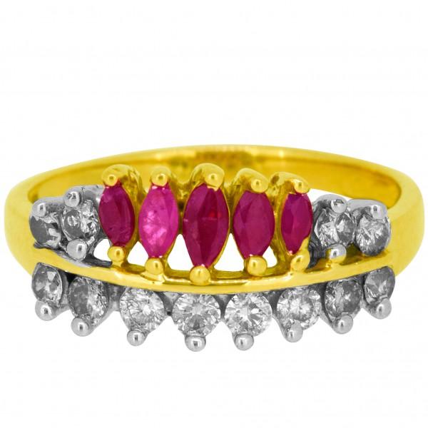 Diamond Ladies Ring 4LRAB365