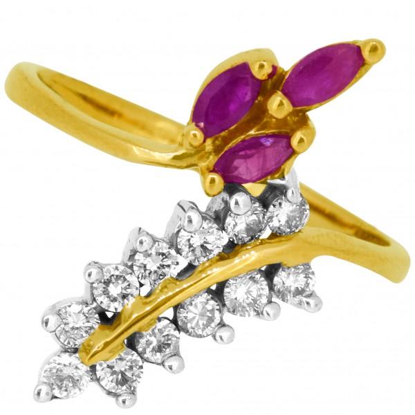 Diamond Ladies Ring 4LRAB577