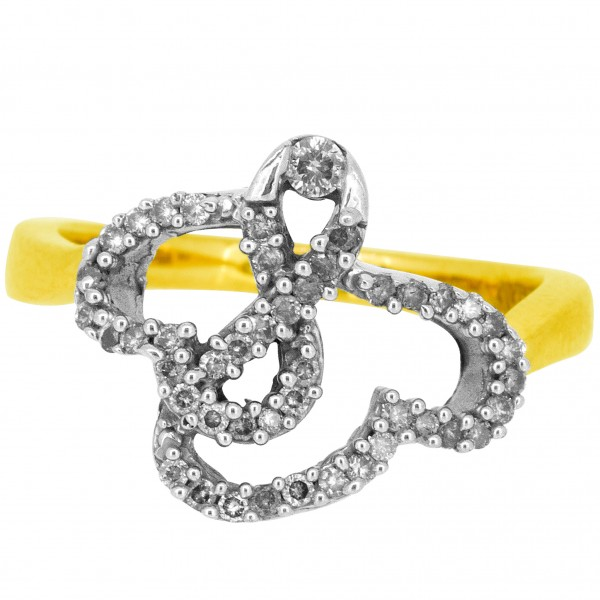 Diamond Ladies Ring 4LRAB701
