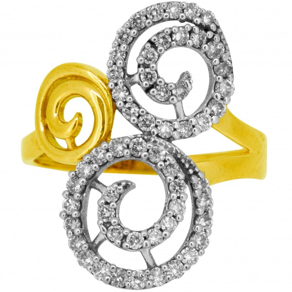 Diamond Ladies Ring 4LRAC918