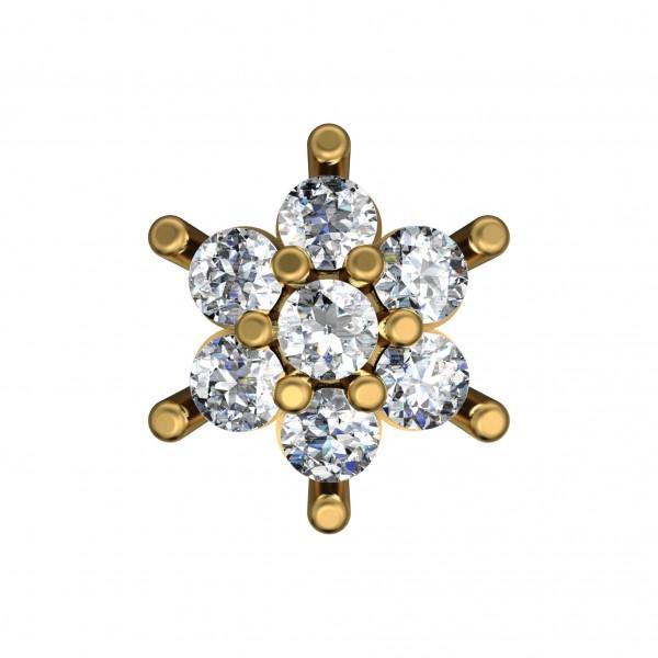 Diamond Nose Pin 4NPAA002