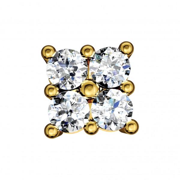 Diamond Nose Pin NPAA004