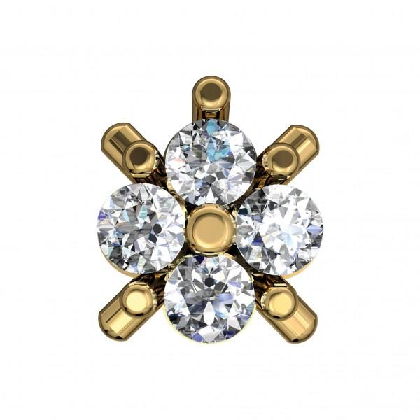 Diamond Nose Pin 4NPAA005