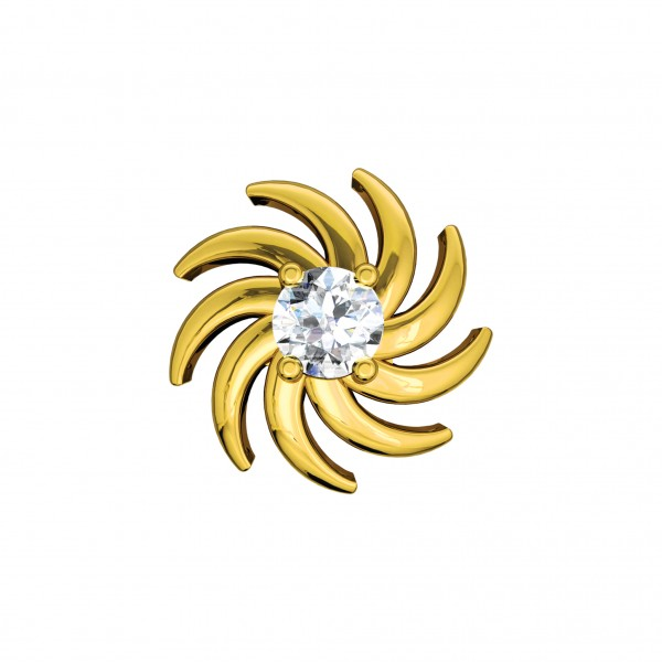 Diamond Nose Pin NPAA007