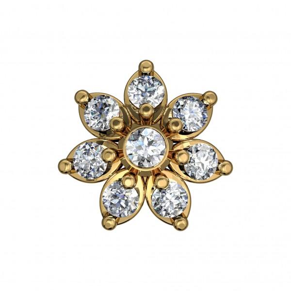 Diamond Nose Pin 4NPAA011