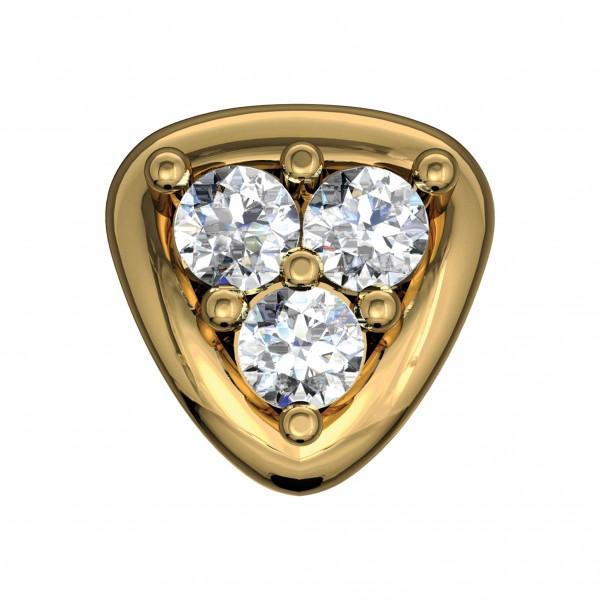Diamond Nose Pin 4NPAA014