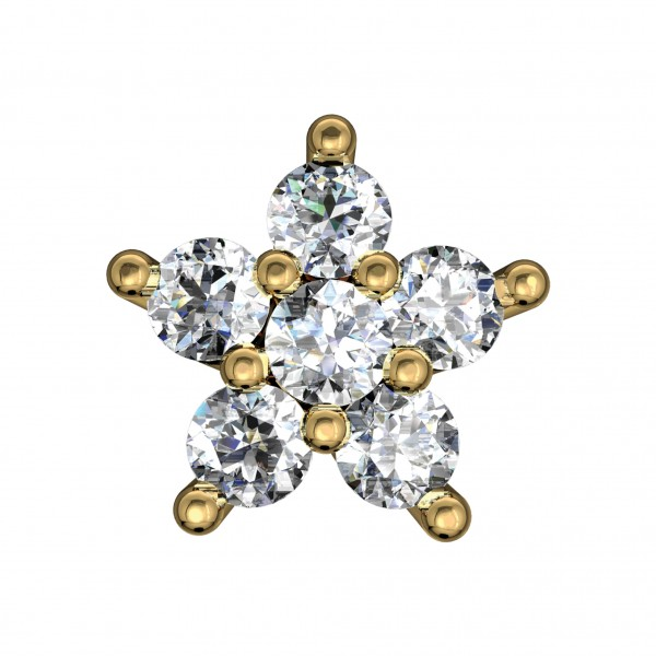 Diamond Nose Pin 4NPAA016