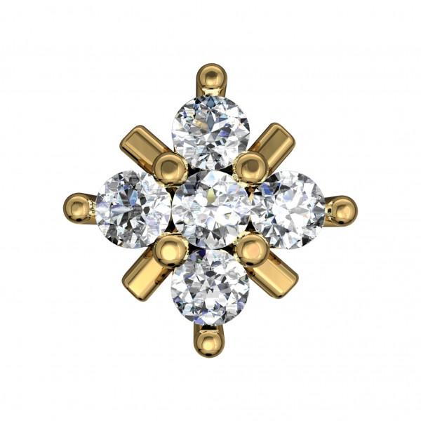 Diamond Nose Pin 4NPAA017