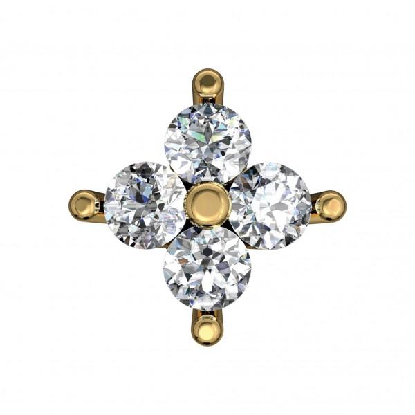 Diamond Nose Pin NPAA018