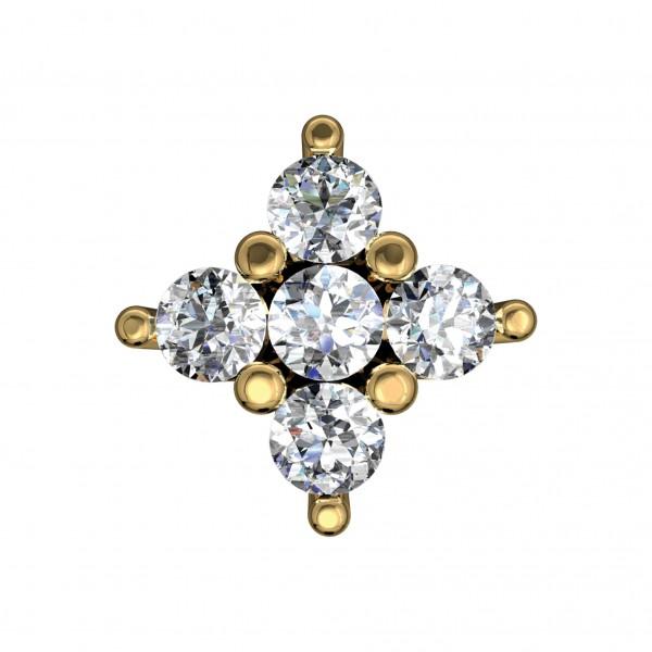 Diamond Nose Pin NPAA021