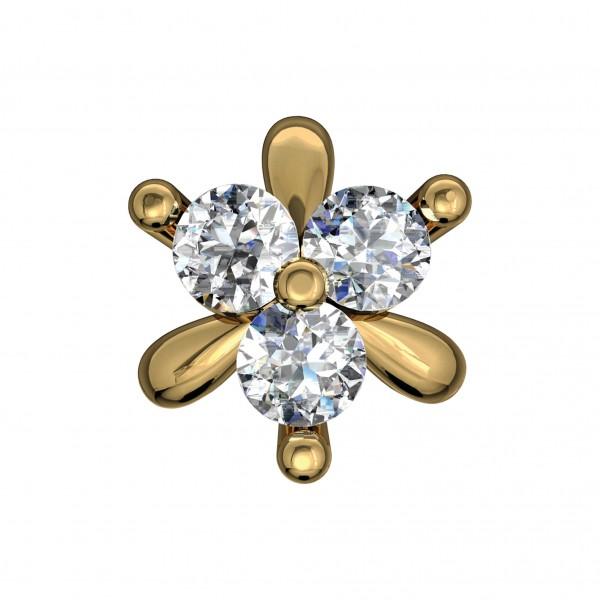 Diamond Nose Pin NPAA026