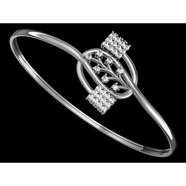 Sterling Silver  Bracelet made with Swarovski Zirconia SBRAA010
