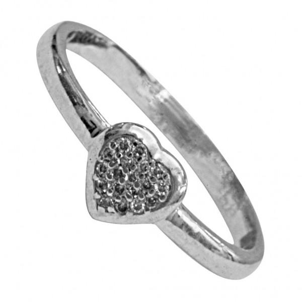 Sterling Silver  Ladies Ring made with Swarovski Zirconia SLRAA525